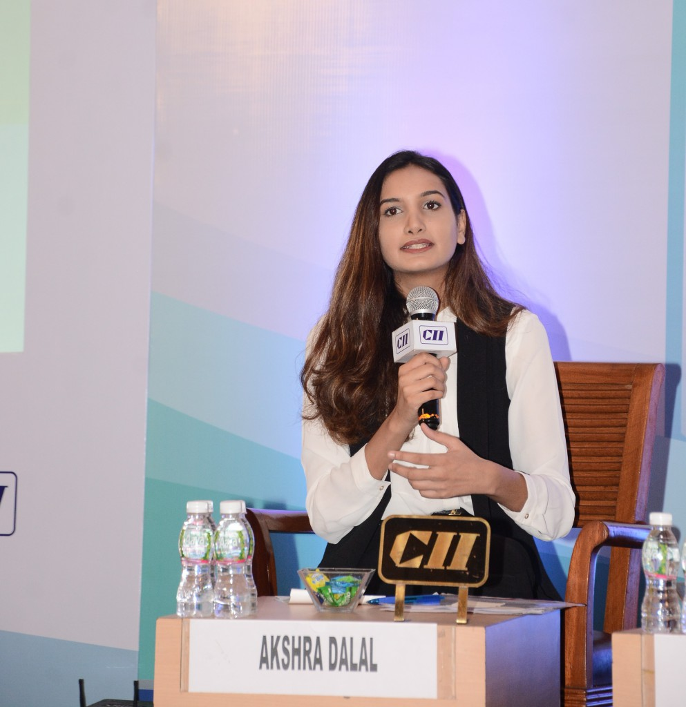 Akshra Dalal Speaking at CII EDUCON 2019