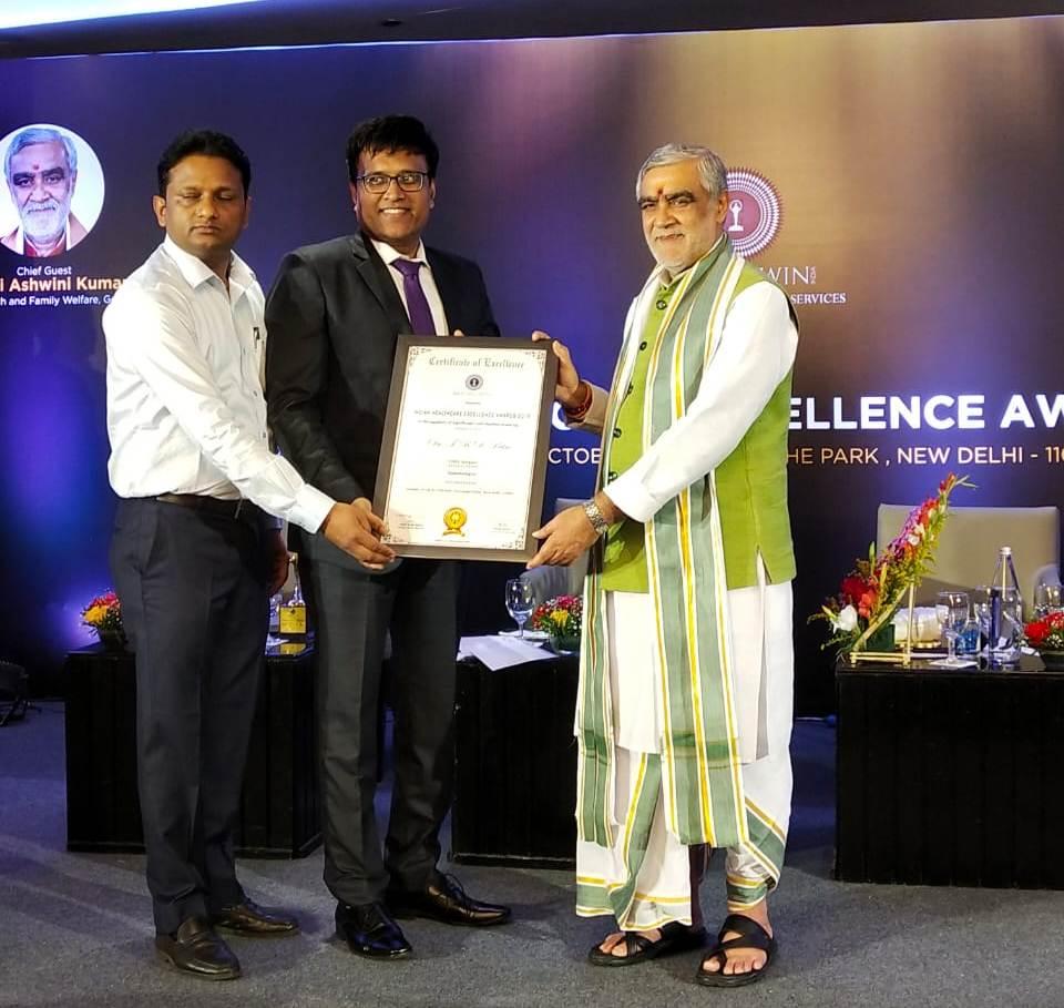 CDAS wins the best Diabetes Multispecialty Hospital in Delhi NCR