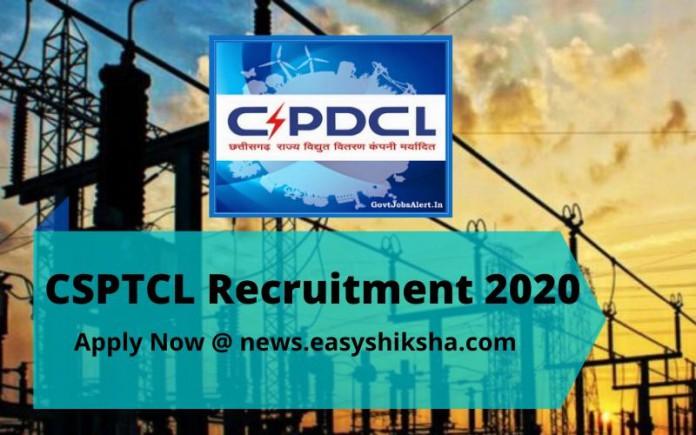 CSPTCL Recruitment