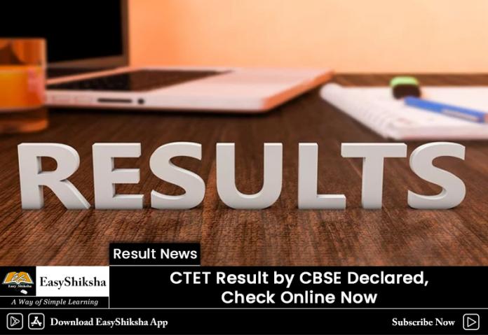 CTET ,Result