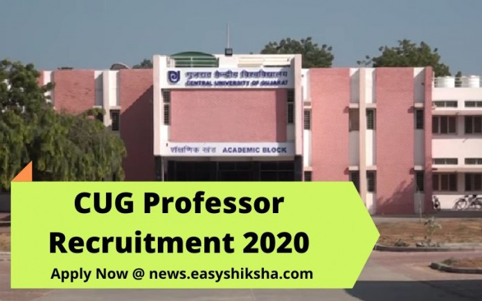 CUG Professor Recruitment