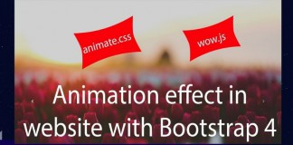 Bootstrap Animation
