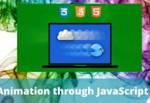Animation through JavaScript
