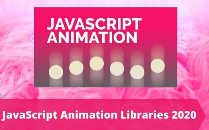 JavaScript Animation Libraries 2020