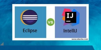Difference between IntelliJ and Eclipse