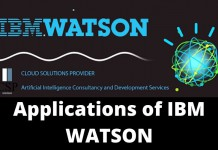Applications of IBM Watson