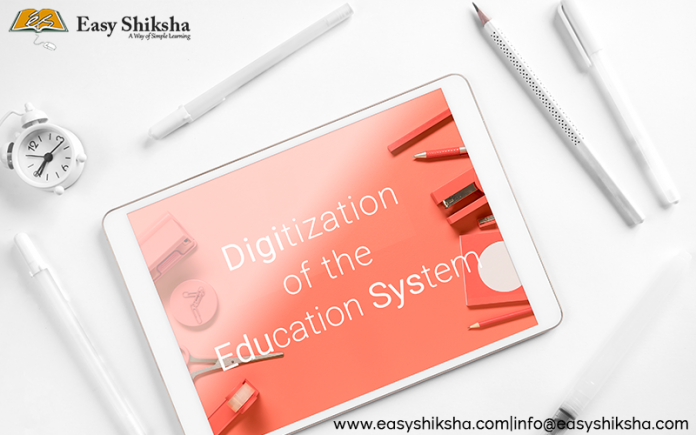 Digitization of the Education System in India