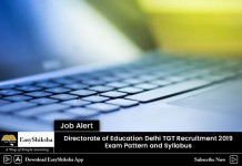 recruitment 2019, delhi, education