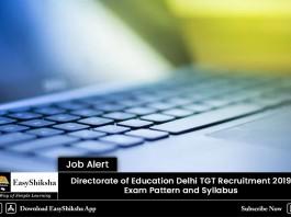 recruitment 2019, delhi, education