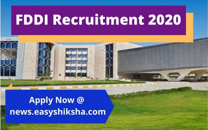 FDDI Recruitment