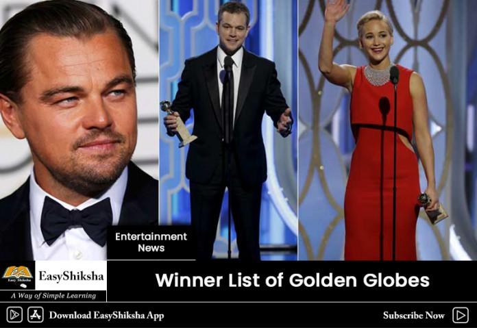 Golden Globes Awards 2019
