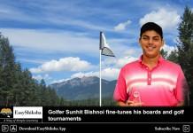 Golfer Sunhit Bishnoi
