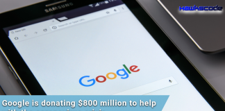 Google donating $800 million to fight against COVI-19