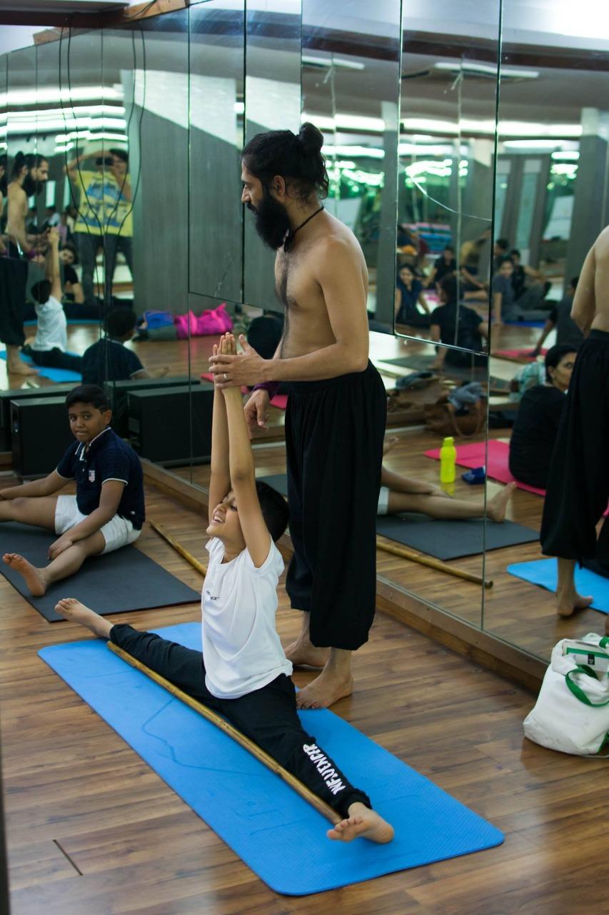 Yoga, Bonding With Child,