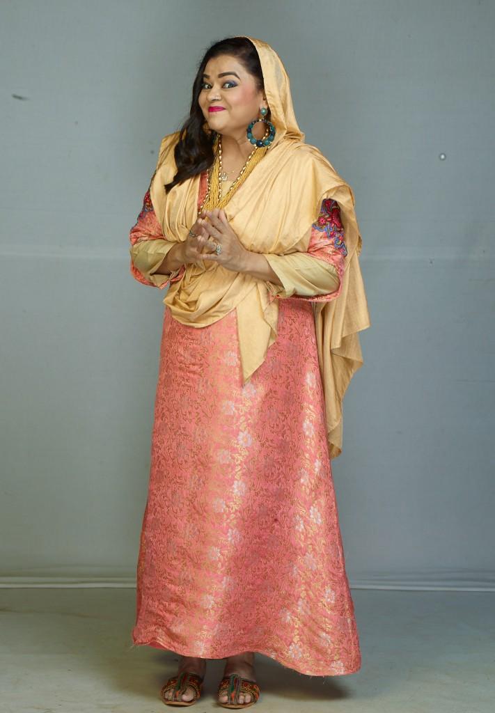 Gulfam Khan as Nazneen Chachi in Sony SAB's Aladdin Naam Toh Suna Hoga