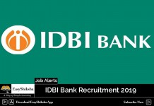 IDBI Bank Recruitment