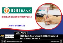 IDBDI recruitment, jobs