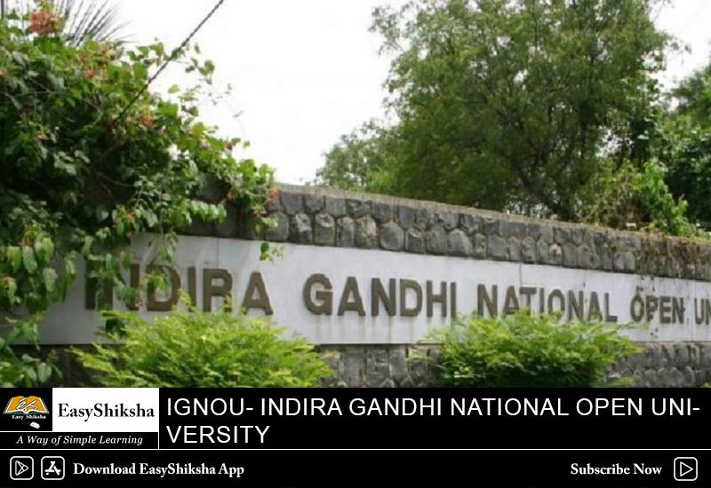 IGNOU, online mba program