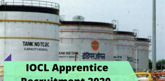 IOCL Apprentice Recruitment