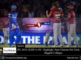 IPL 2019, KXIP vs DC