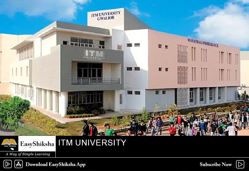 online mba program, ITM University