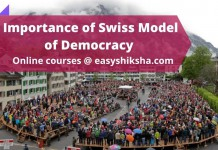 Importance of Swiss Model of Democracy