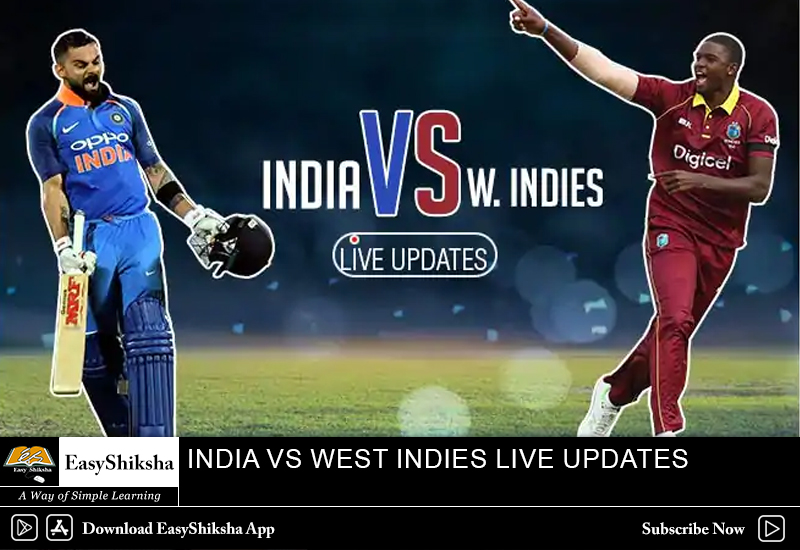 India vs West Indies Live Match Updates: World Cup 2019