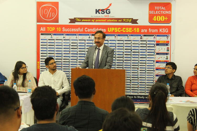 KSG sets new industry standard with all top 10 UPSC rank holders