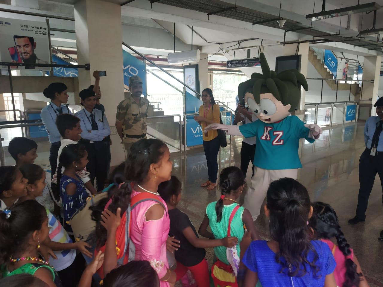 KidZania Mumbai collaborates with Mumbai Metro 1 (5)