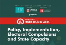 Guest Lecture, Dr. Ashok Lahiri, ISBF