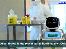 Medical robot to rescue in the battle against Coronavirus