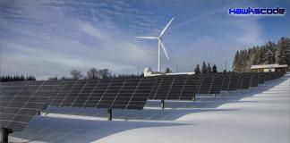 Mega solar plant