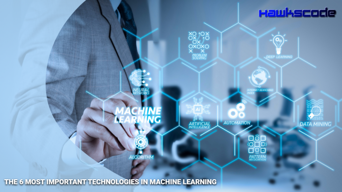 Most Important Technologies in Machine Learning