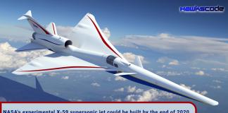NASA experimental X-59