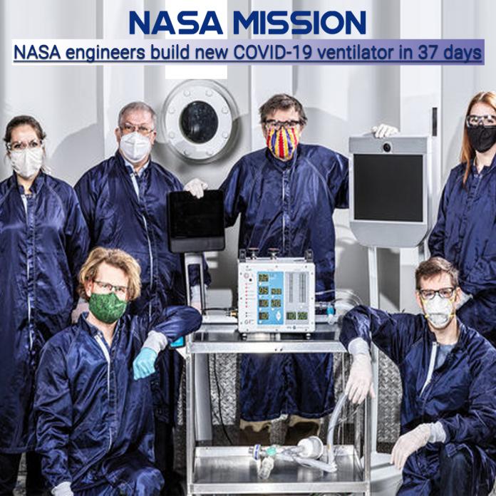 NASA Develops COVID19 prototype ventilator