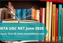 NTA UGC NET June