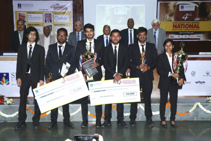 National Moot Court Competition Winners_Damodaram Sanjivayya National Law University (DSNLU) and Campus Law Centre Delhi