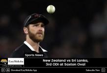 New Zealand vs shri lanka