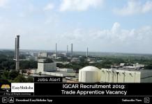 IGCAR Recruitment 2019