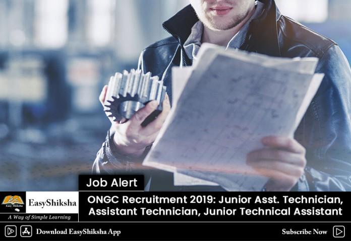 ONGC Recruitment, jobs , 2019