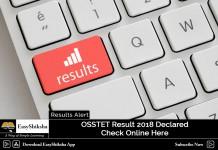 OSSTET Result 2018