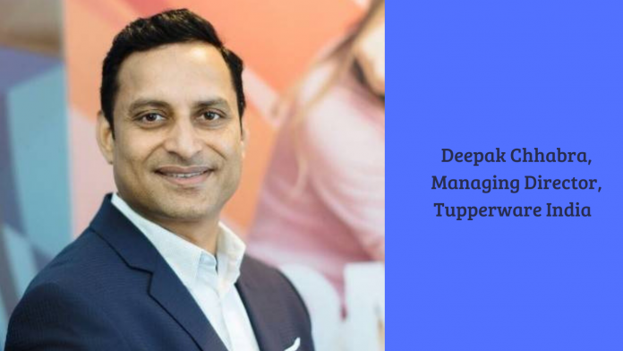 Deepak Chhabra, Tupperware