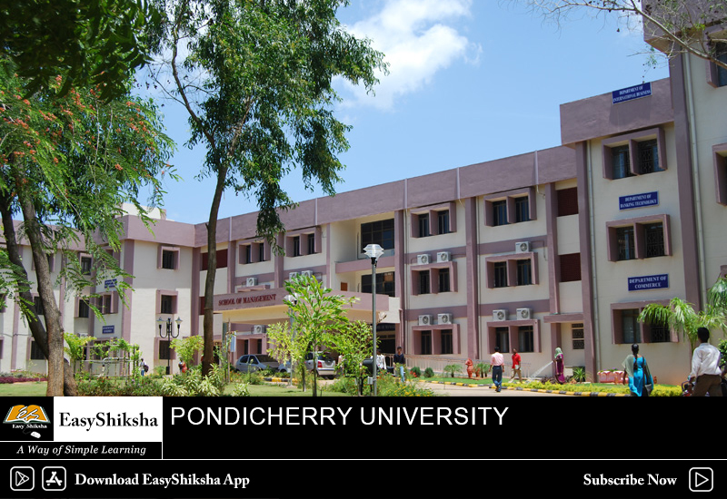 online mba program, Pondicherry University