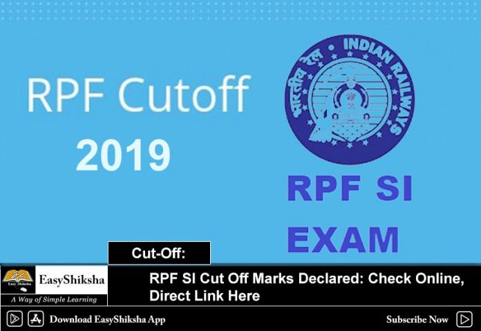 RPF SI Cut Off