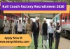 Rail Coach Factory Recruitment