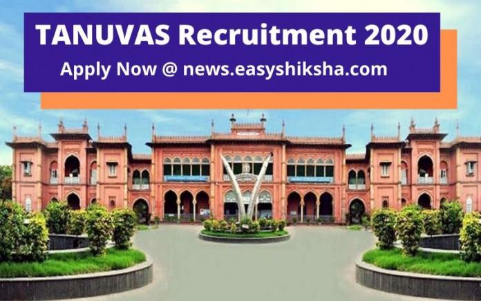 TANUVAS Recruitment