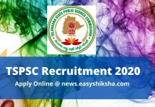 TSPSC Recruitment
