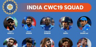 World Cup 2019 Team India