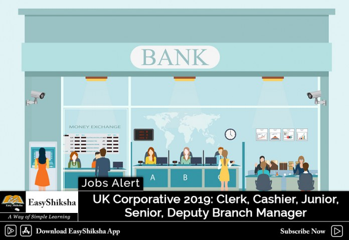 UK Corporative, 2019 Vacancies