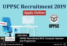 uppsc recruitment, vacancy, jobs